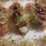 Moje wiosenne roladki z łososia