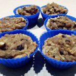 Muffinki z tarty z jabłkowo – orzechowym nadzieniem