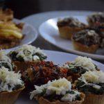Muffinki z tarty …szpinak…. pieczarki