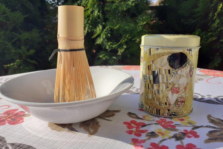 Za oknami jesień……..na stole pyszna herbata Matcha