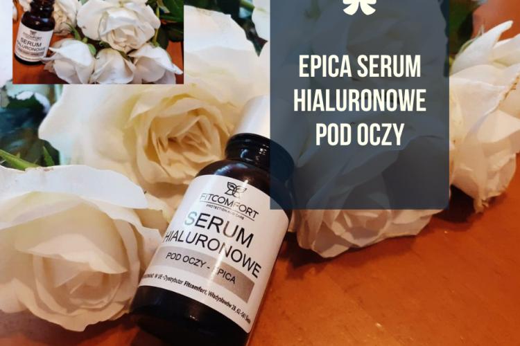 EPICA Serum hialuronowe pod oczy